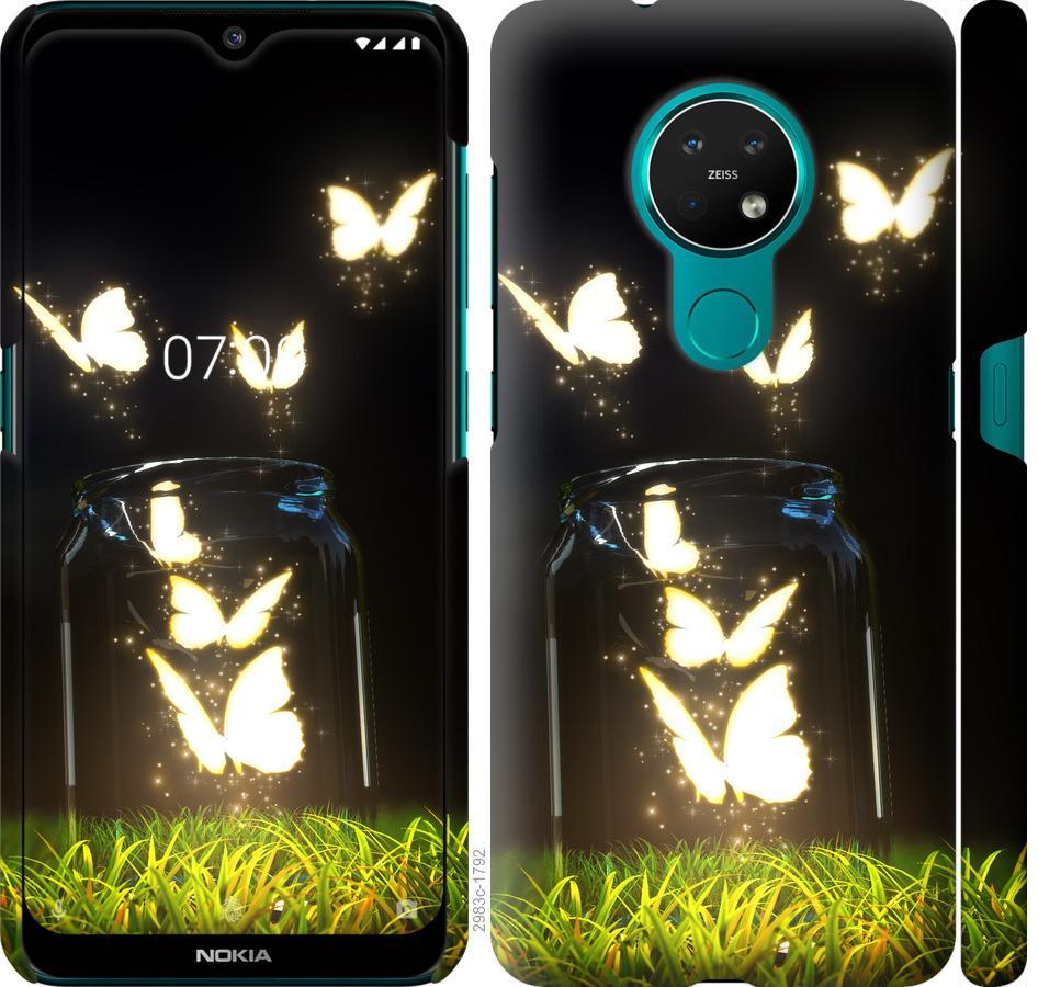 Чехол на Nokia 7.2 Бабочки