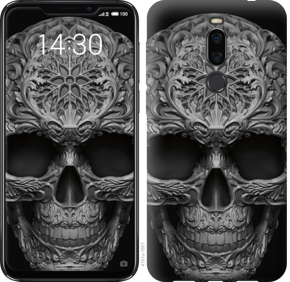 Чехол на Meizu X8 skull-ornament