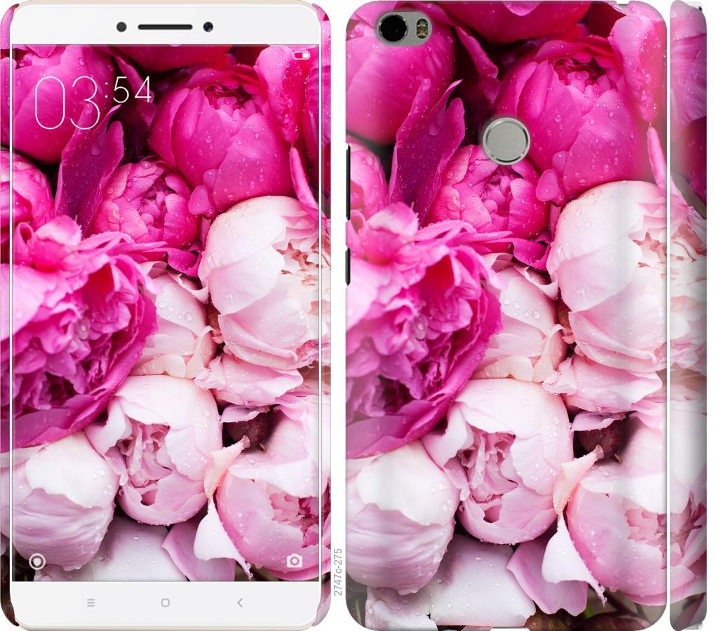 Чехол на Xiaomi Mi Max Розовые пионы