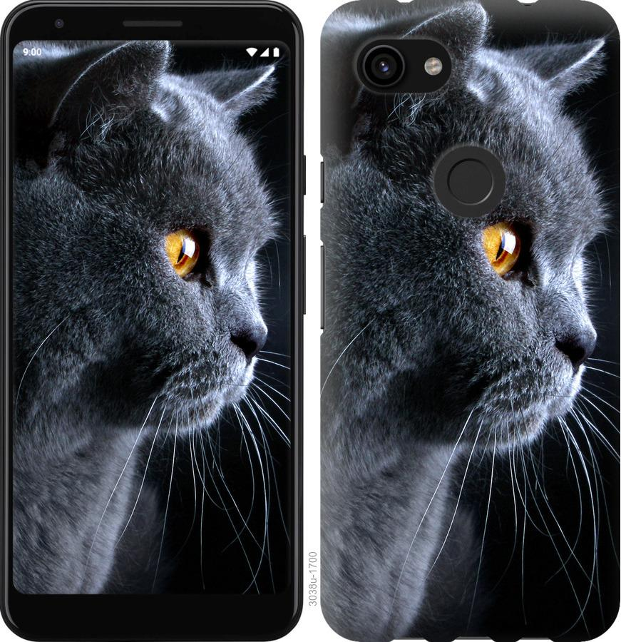 Чехол на Google Pixel 3a Красивый кот