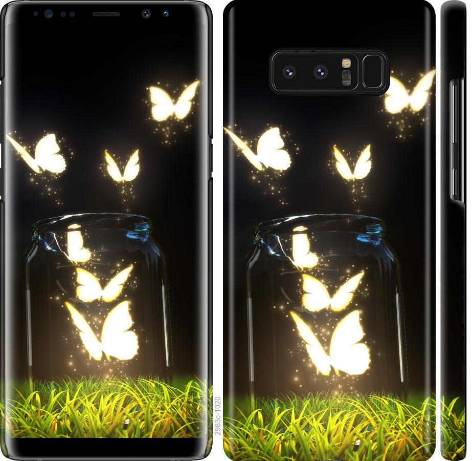 Чехол на Samsung Galaxy Note 8 Бабочки