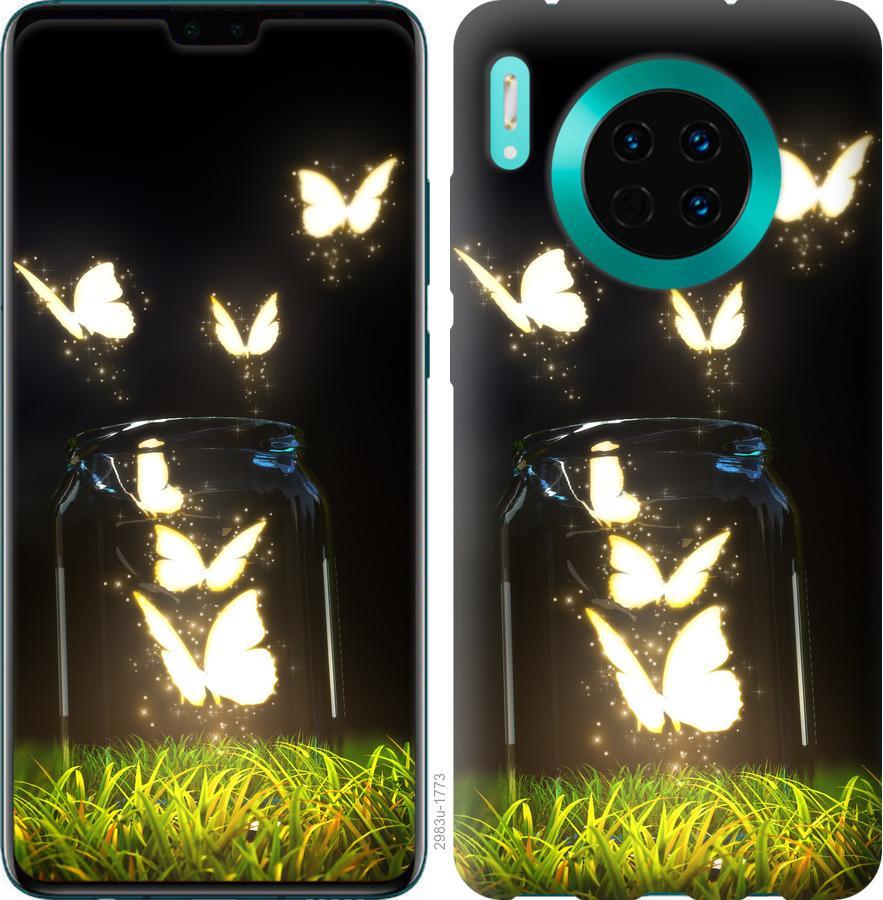 Чехол на Huawei Mate 30 Бабочки