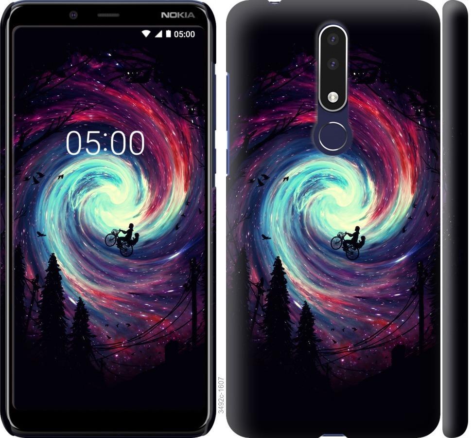 Чехол на Nokia 3.1 Plus Навстречу приключениям