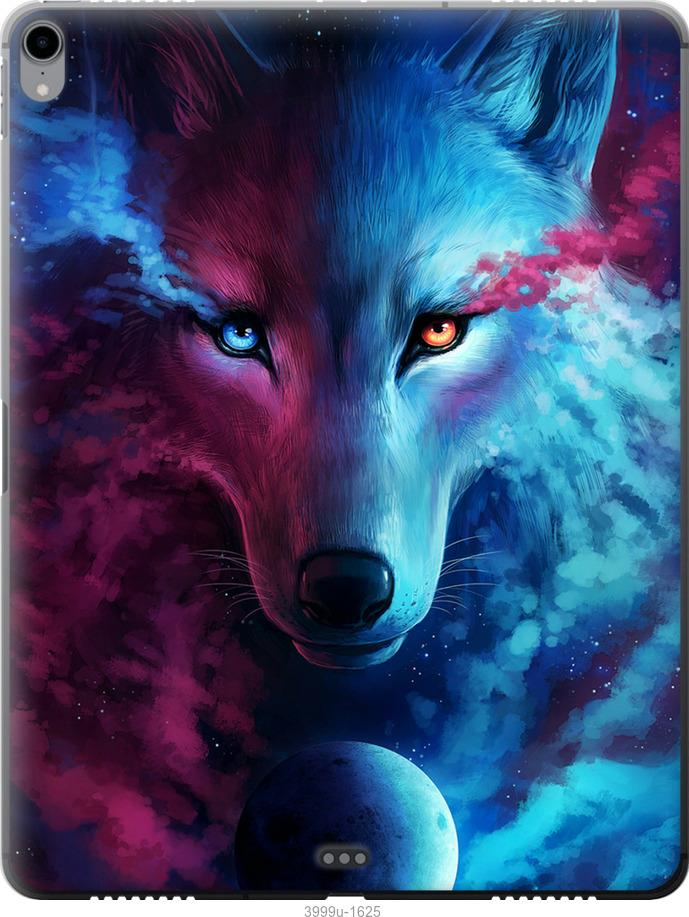 Чехол на iPad Pro 12.9 (2018) Арт-волк