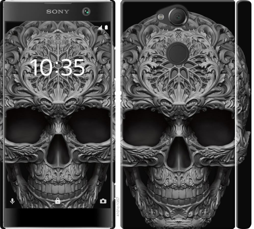 Чехол на Sony Xperia XA2 H4113 skull-ornament