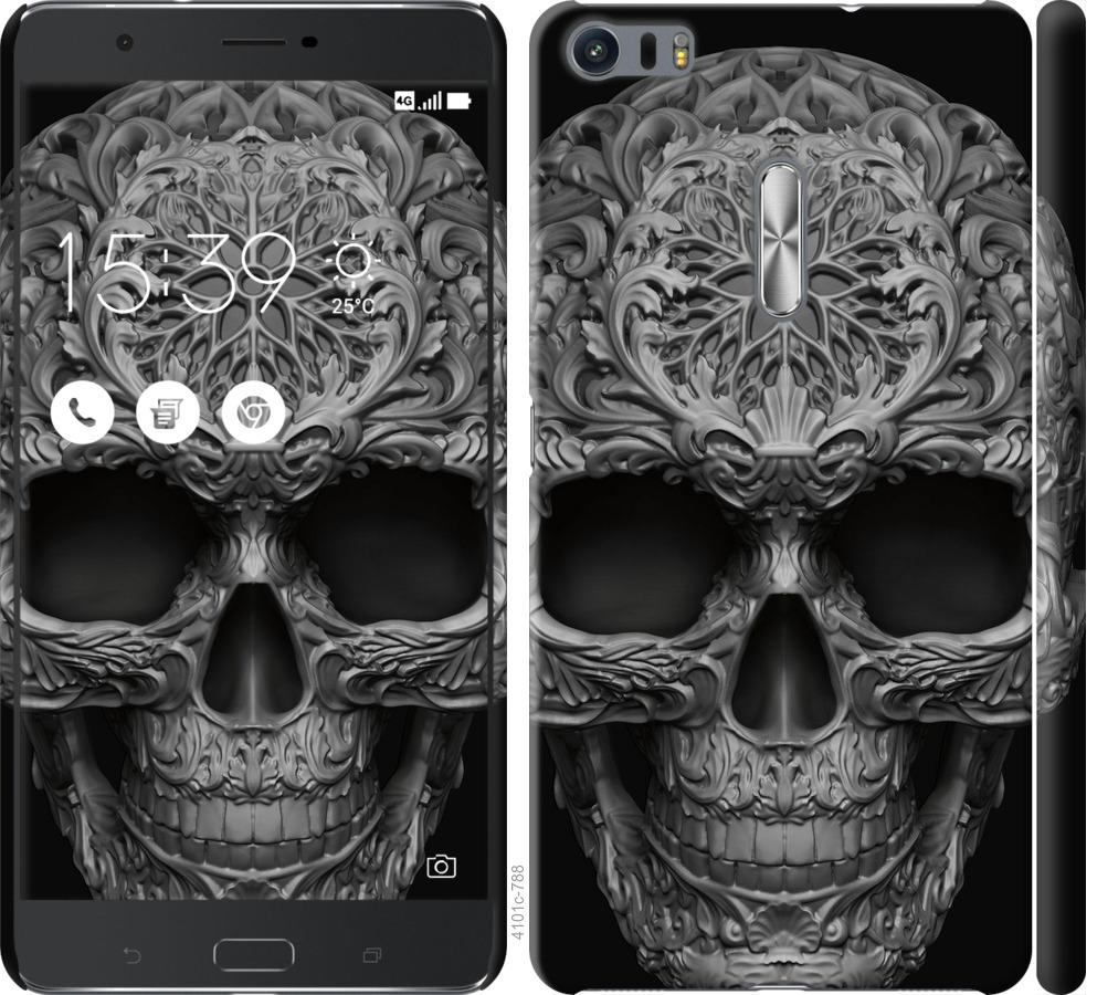 Чохол на Asus Zenfone 3 Ultra ZU680KL skull-ornament