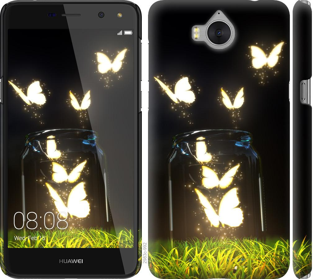 Чехол на Huawei Y5 2017 Бабочки