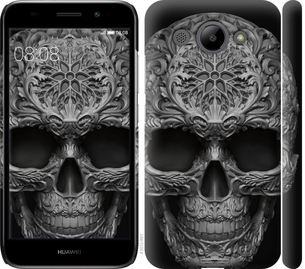 Чохол на Huawei Y3 2017 skull-ornament