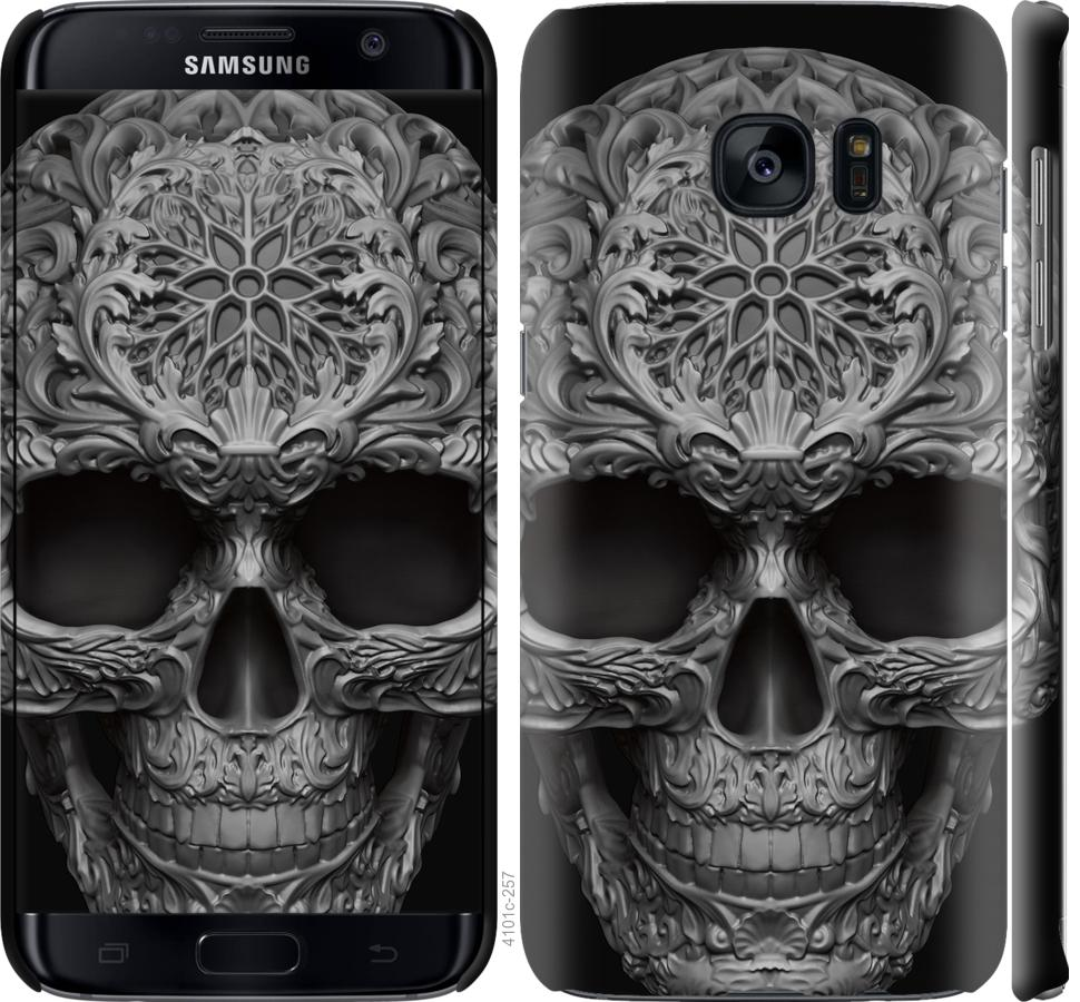 Чехол на Samsung Galaxy S7 Edge G935F skull-ornament