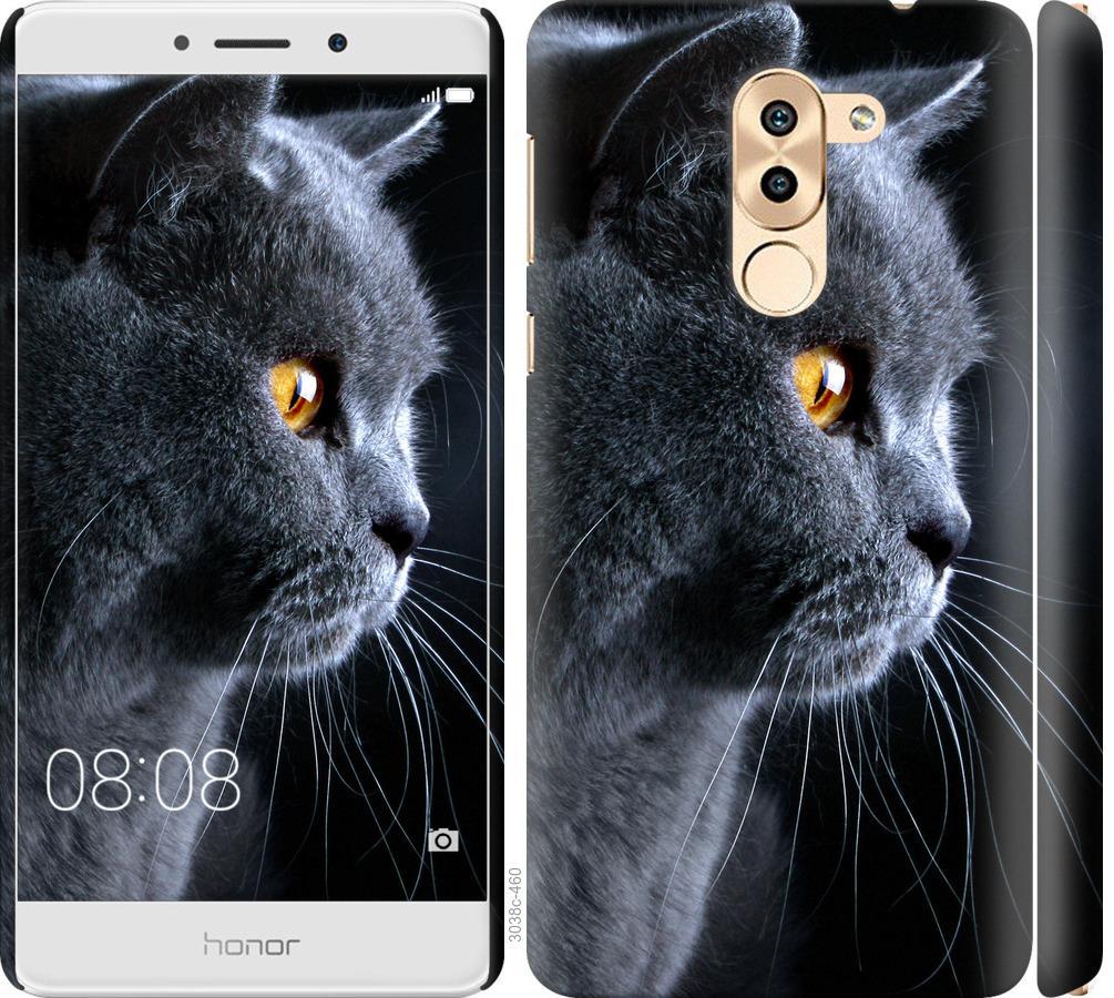 Чехол на Huawei Mate 9 Lite Красивый кот
