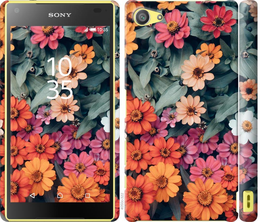 Чехол на Sony Xperia Z5 Compact E5823 Beauty flowers