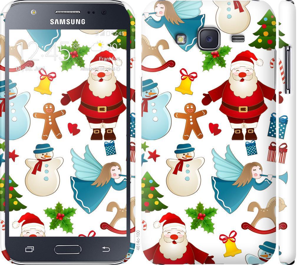Чехол на Samsung Galaxy J5 (2015) J500H Новогодний 1