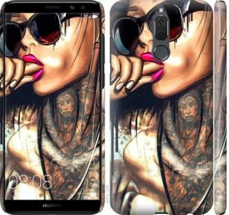 Чехол на Huawei Mate 10 Lite Девушка в тату