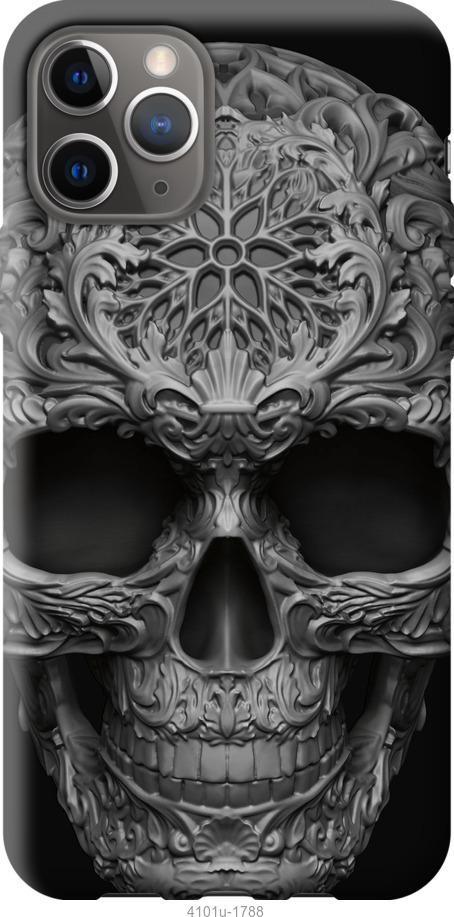 Чехол на Google Pixel 4 XL skull-ornament
