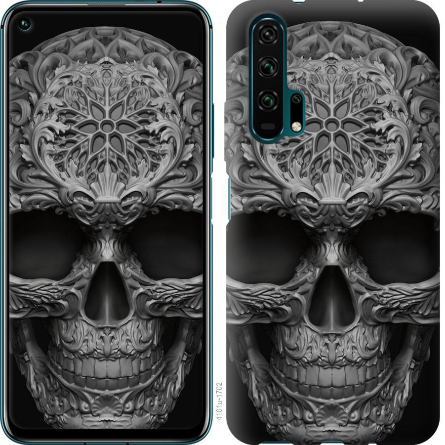 Чехол на Huawei Nova 6 skull-ornament