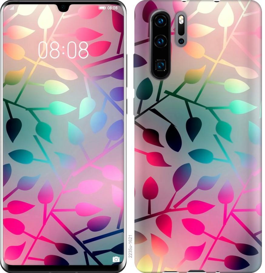 Чехол на Huawei Nova 6SE Листья