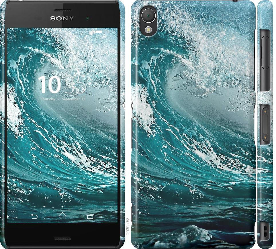 Чехол на Sony Xperia Z3 D6603 Морская волна
