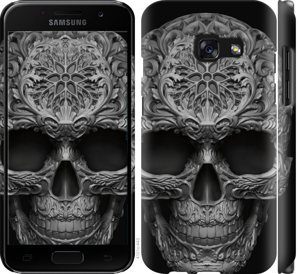 Чехол на Samsung Galaxy A3 (2017) skull-ornament