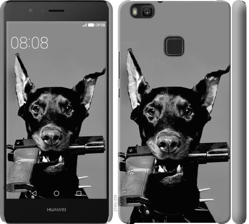 Чехол на Huawei P9 Lite Доберман