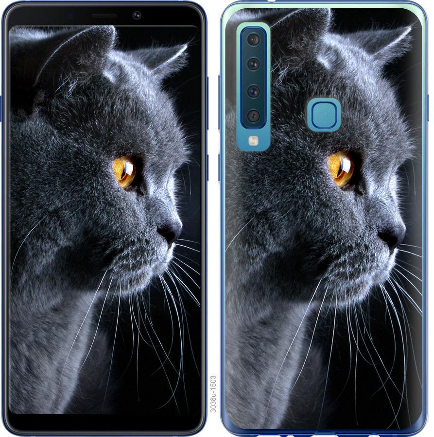 Чехол на Samsung Galaxy A9 (2018) Красивый кот