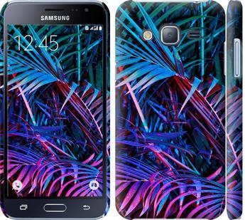 Чехол на Samsung Galaxy J3 Duos (2016) J320H Папоротник под ультрафиолетом