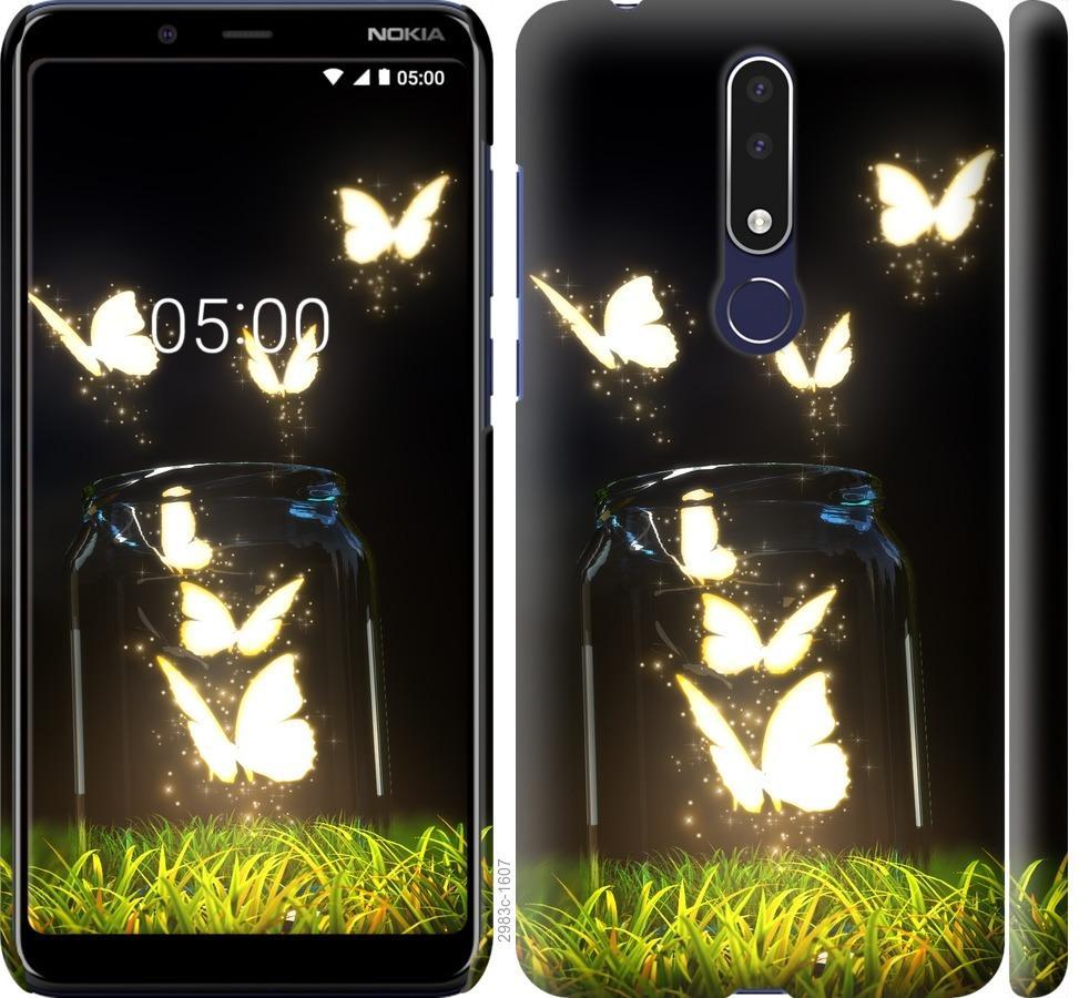 Чехол на Nokia 3.1 Plus Бабочки
