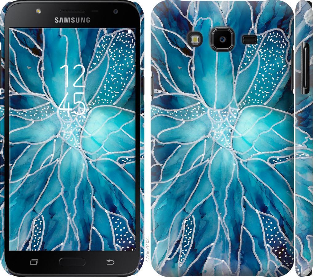 Чехол на Samsung Galaxy J7 Neo J701F чернило