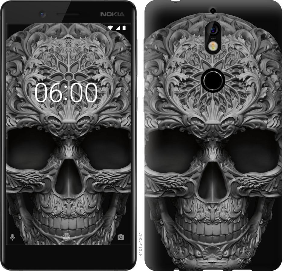Чохол на Nokia 7 skull-ornament