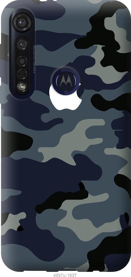 Чехол на Motorola G8 Plus Камуфляж 1