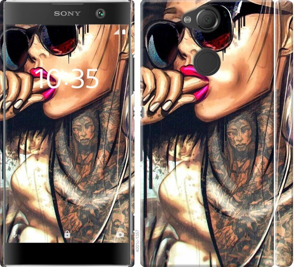 Чехол на Sony Xperia XA2 H4113 Девушка в тату