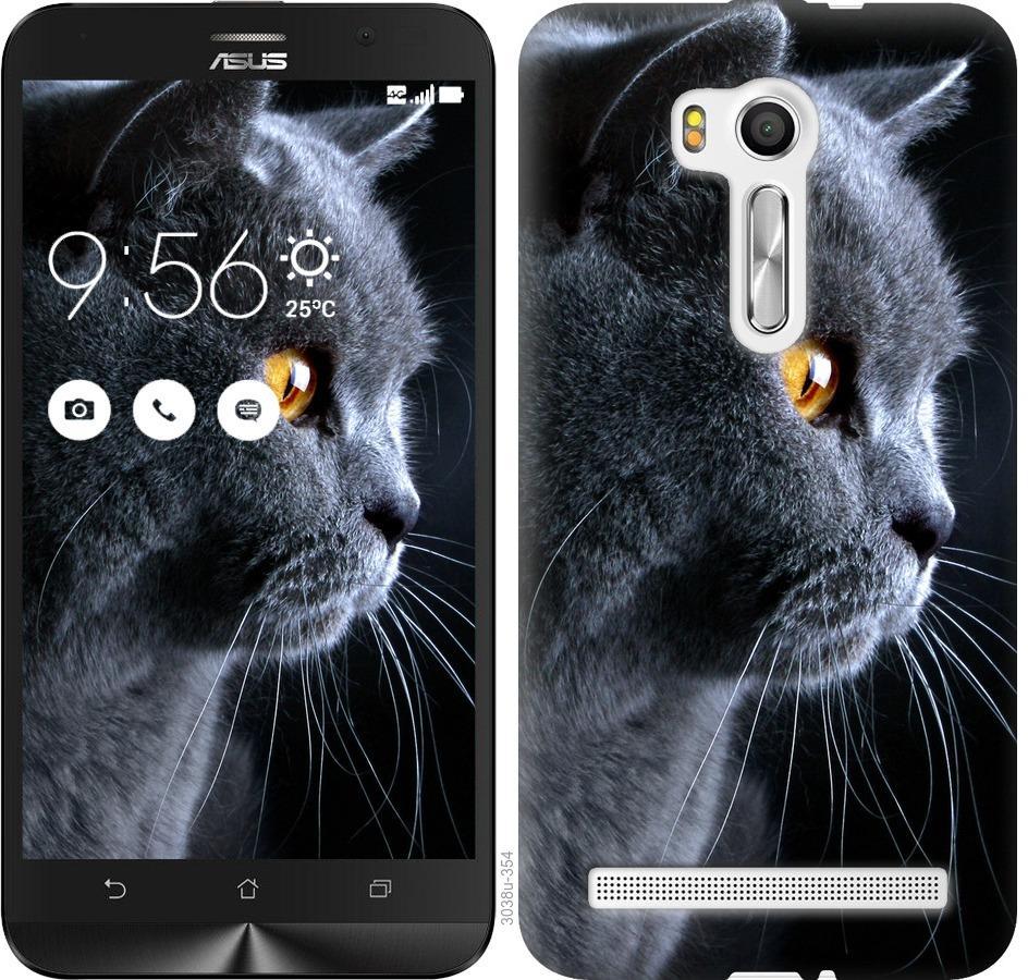 Чехол на Asus ZenFone Go TV ZB551KL Красивый кот