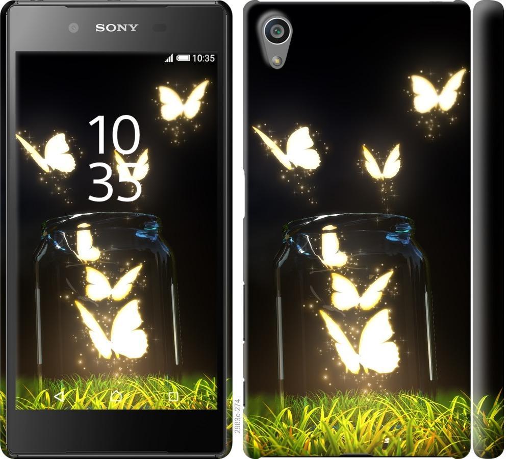 Чехол на Sony Xperia Z5 E6633 Светящиеся бабочки