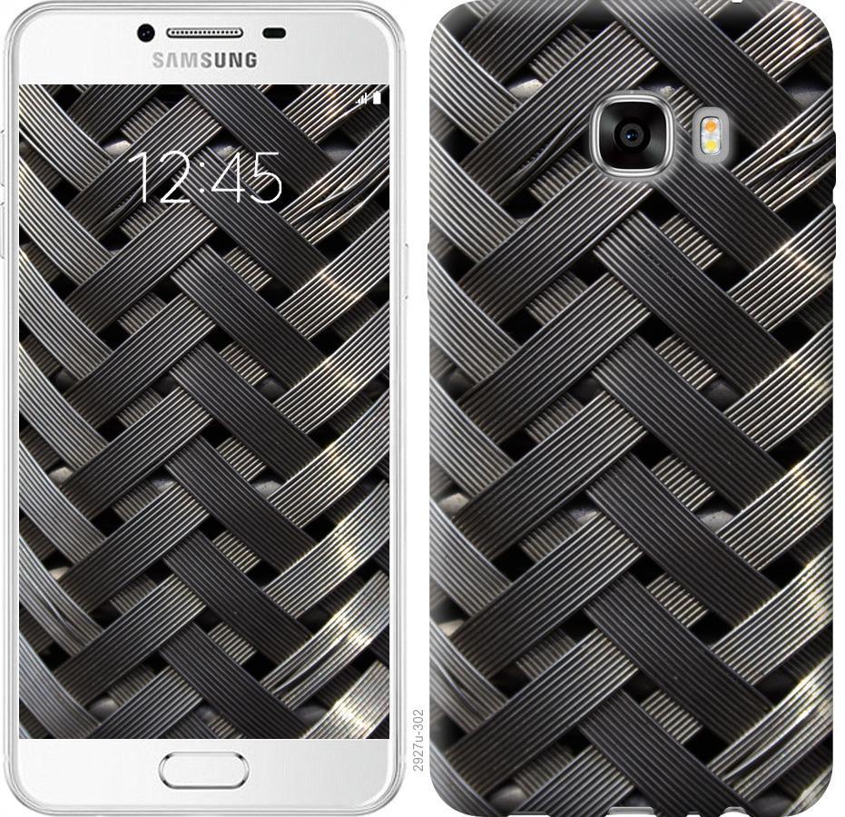 Чехол на Samsung Galaxy C7 C7000 Металлические фоны