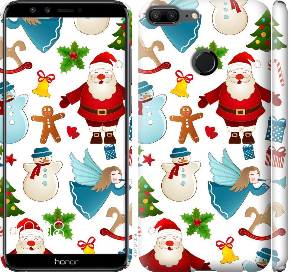 Чехол на Huawei Honor 9 Lite Новогодний 1