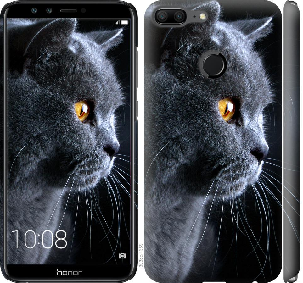 Чехол на Huawei Honor 9 Lite Красивый кот