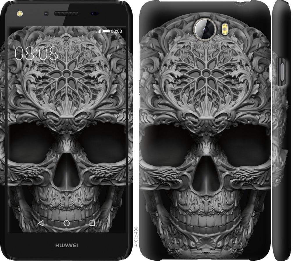 Чехол на Huawei Y5 II skull-ornament