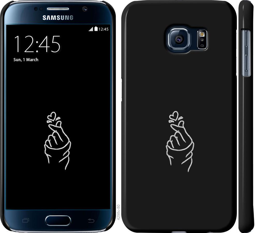 Чехол на Samsung Galaxy S6 G920 Love You