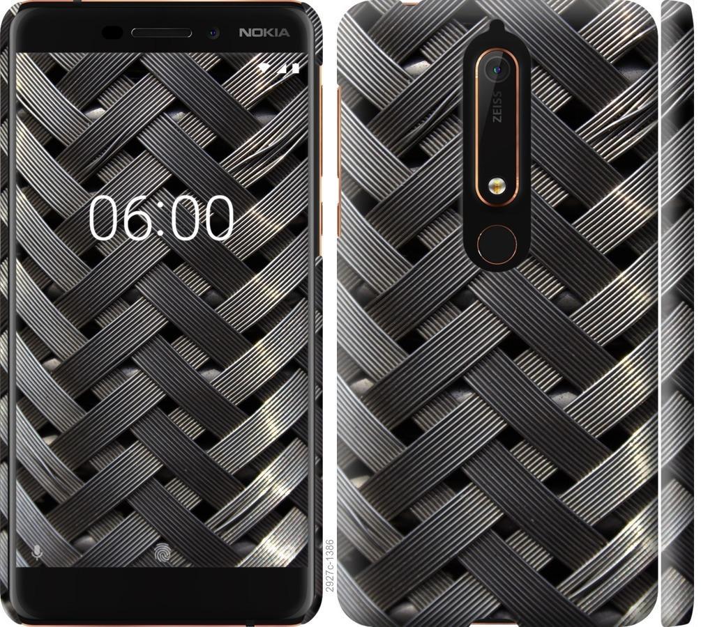 Чехол на Nokia 6.1 Металлические фоны