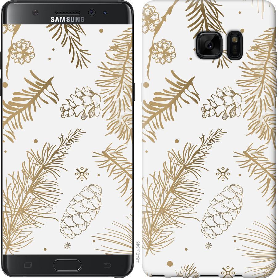 Чохол на Samsung Galaxy Note 7 Duos N930F Зимовий