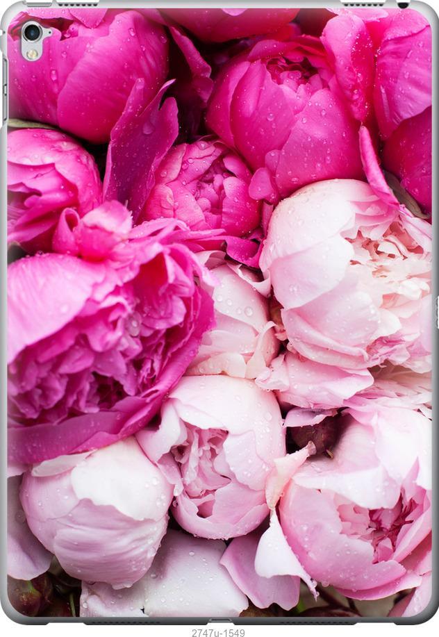 Чехол на iPad Pro 12.9 Розовые пионы