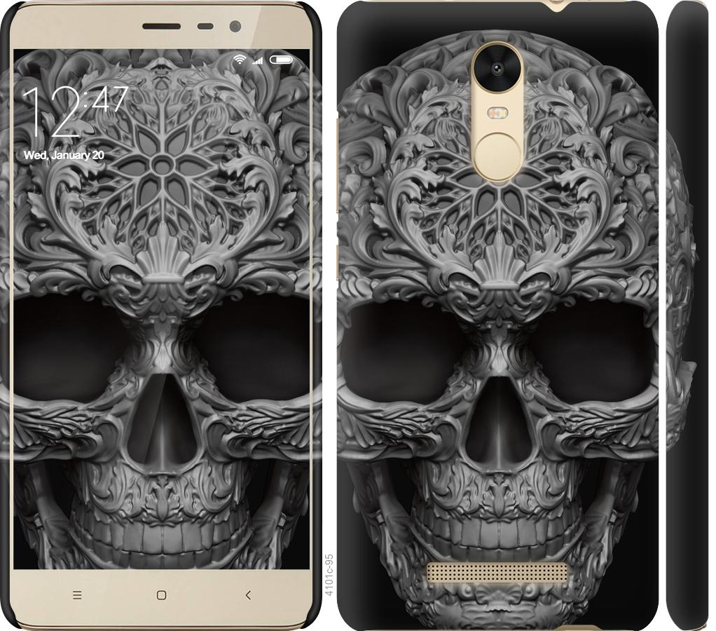 Чехол на Xiaomi Redmi Note 3 skull-ornament