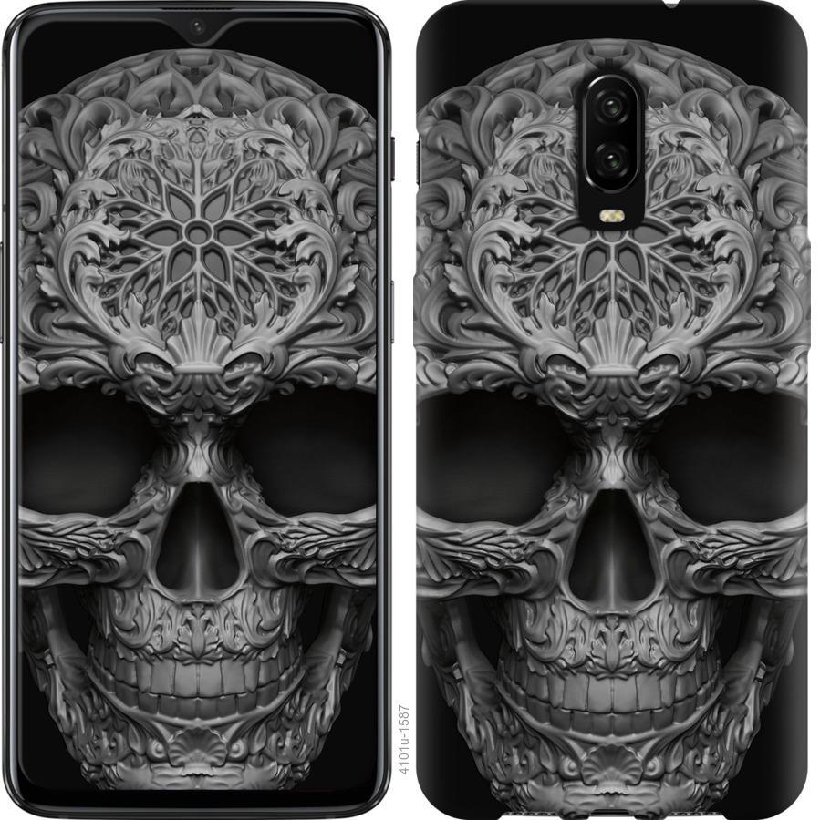 Чехол на OnePlus 6T skull-ornament