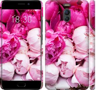 Чехол на Meizu M6 Note Розовые пионы