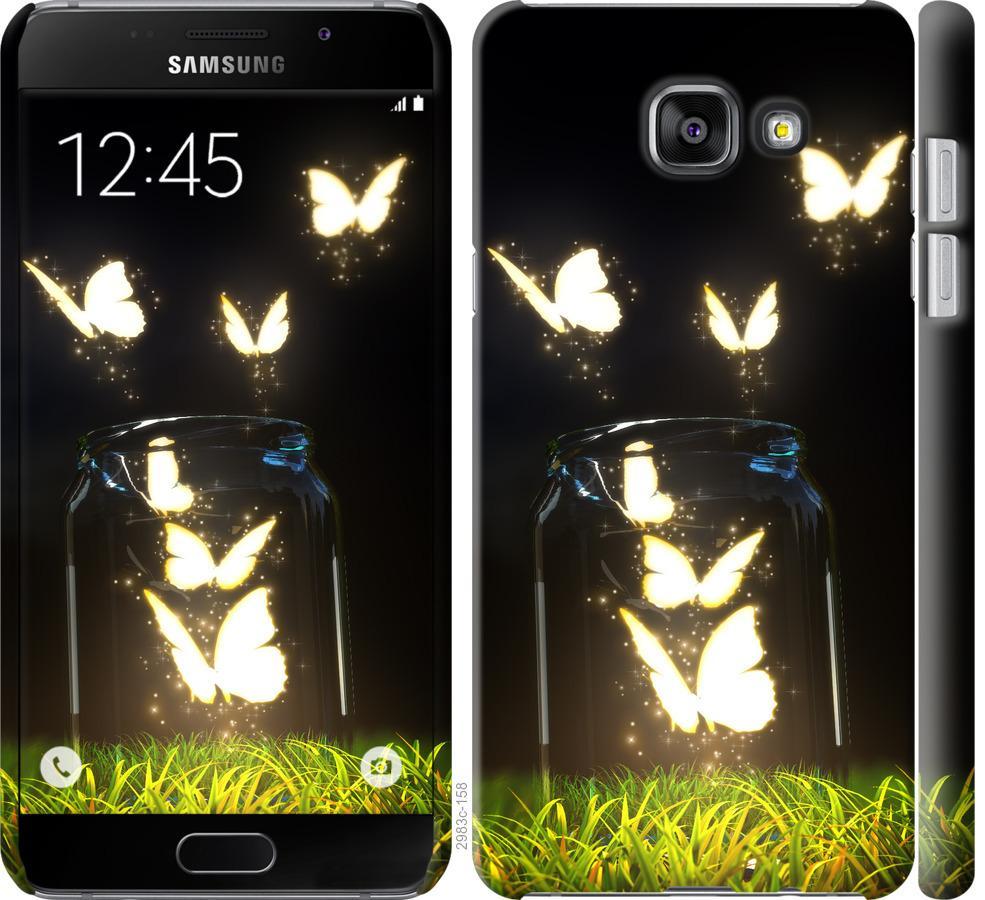 Чехол на Samsung Galaxy A5 (2016) A510F Бабочки