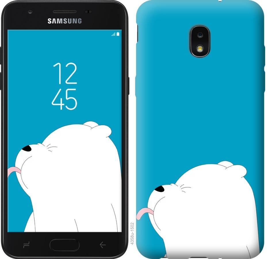 Чехол на Samsung Galaxy J7 2018 Мишка 1
