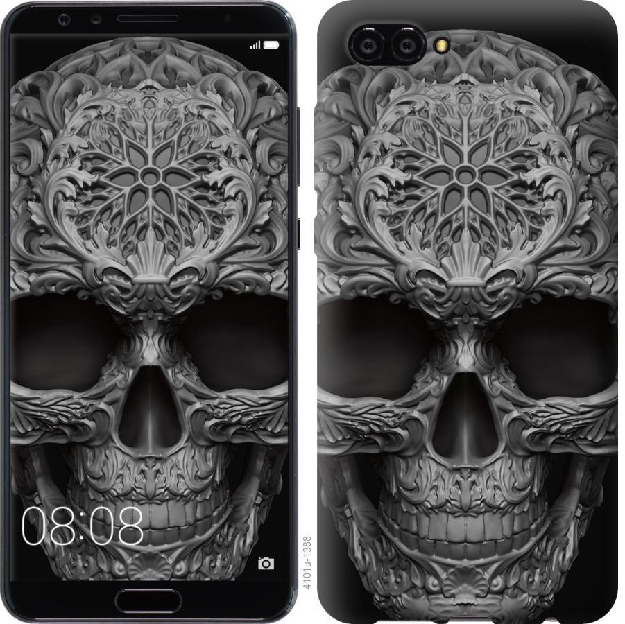 Чехол на Huawei Nova 2S skull-ornament