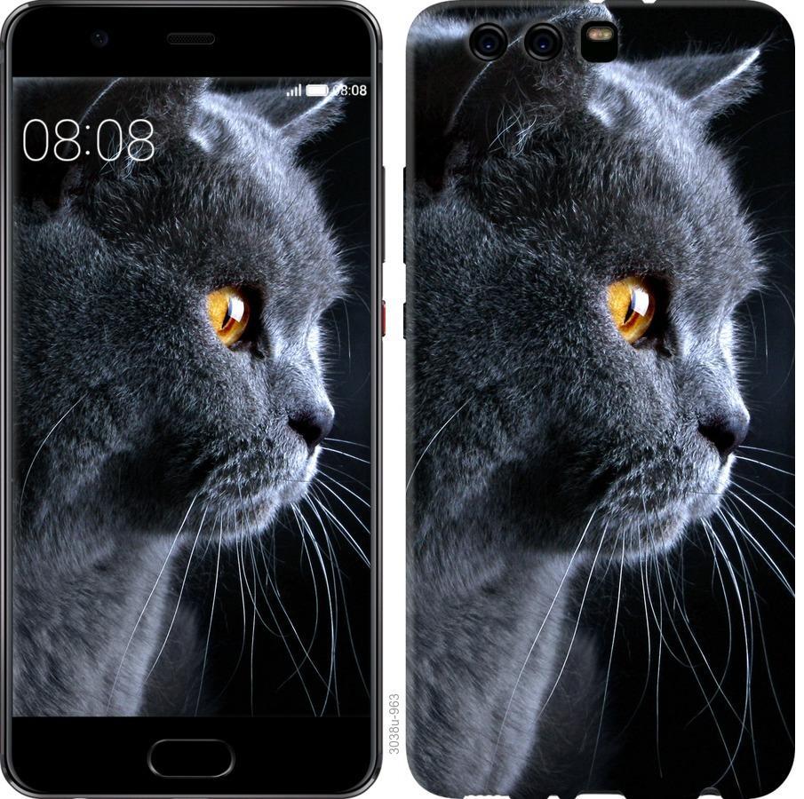 Чехол на Huawei P10 Plus Красивый кот