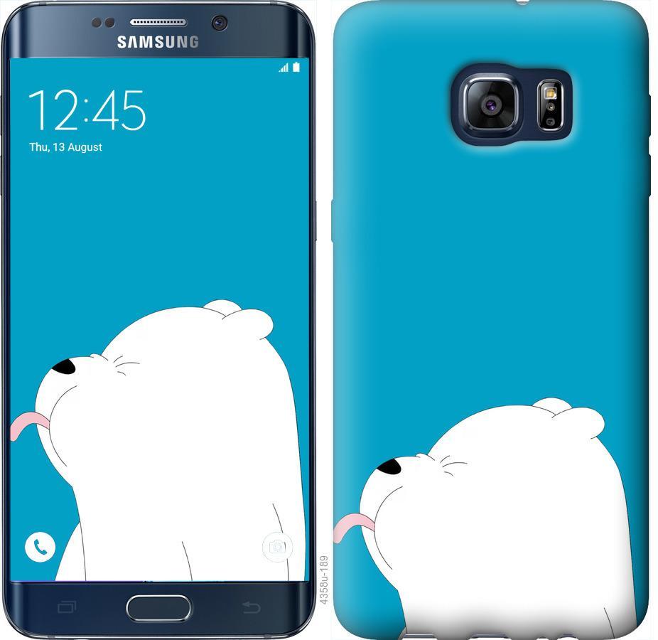 Чехол на Samsung Galaxy S6 Edge Plus G928 Мишка 1