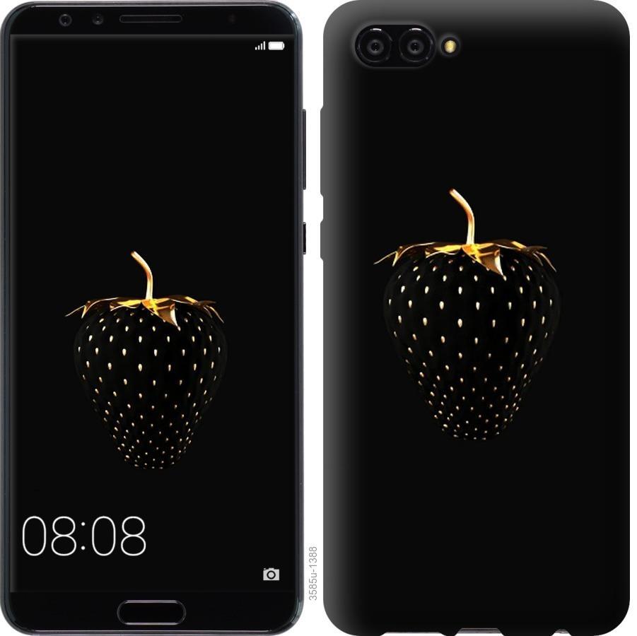 Чехол на Huawei Nova 2S Черная клубника