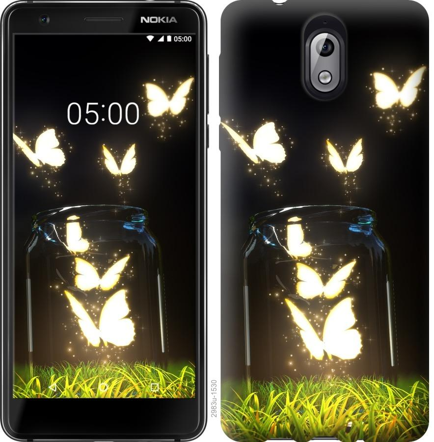 Чехол на Nokia 3.1 Бабочки